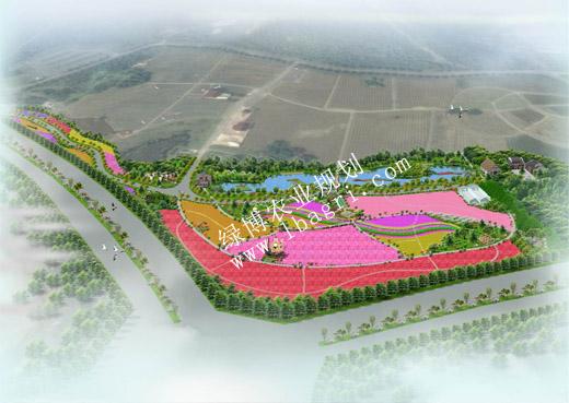 无锡雪浪山创意花田规划设计