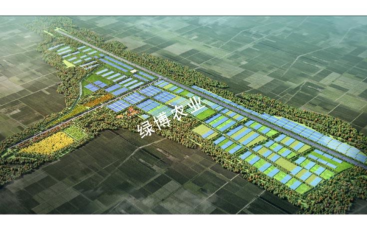 菏泽巨野高效农业示范区规划